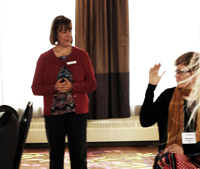 The Huntington Society of Canada Learns About Therapeutic Touch