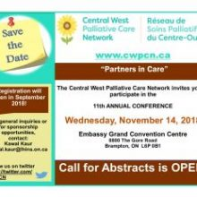 Central West Palliative Care Network Conference November 2018